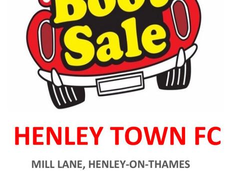 Henley Town FC Car Boot Sale