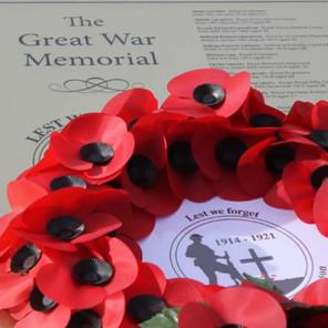 Lord-Lieutenant Unveils Great War Memorial