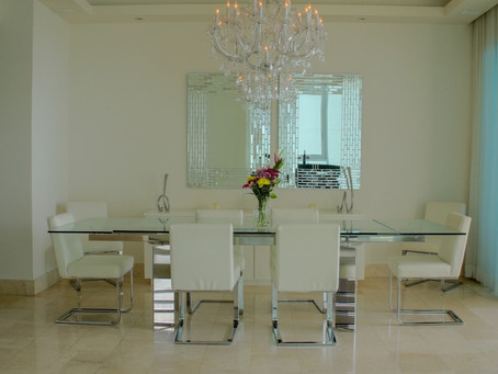 Modern and furnished 266m2 Apartment in PH Pacific Village - $3,500