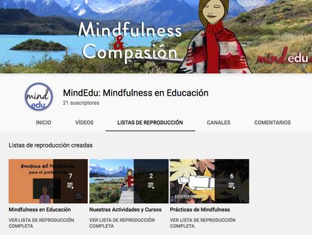 Mindfulness en Educación también en Youtube