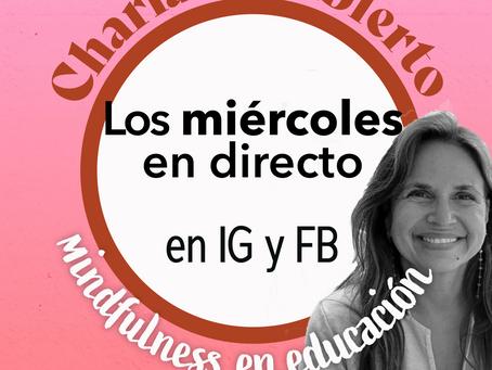 Mindfulness en educación: charlas en abierto cada miércoles