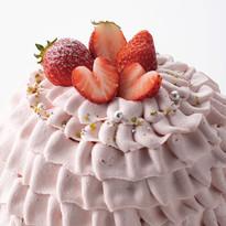 【季節限定】苺クリームデコレーション