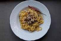 "Pasta with Sardines - ""Pasta con le Sarde"""