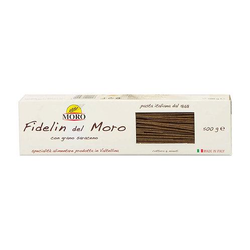 Moro Fidelin della Valtellina - Buckwheat Spaghetti