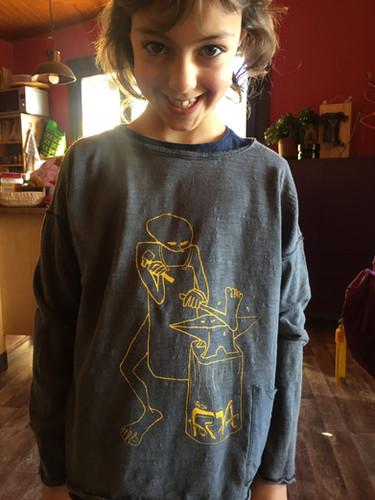 Mali amb la samarreta vadeFORJA
