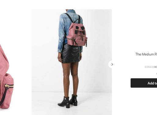  折扣消息  Burberry 折扣最後一天,還想買尼龍後背包的看這裡