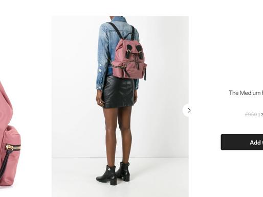 |折扣消息| Burberry 折扣最後一天,還想買尼龍後背包的看這裡