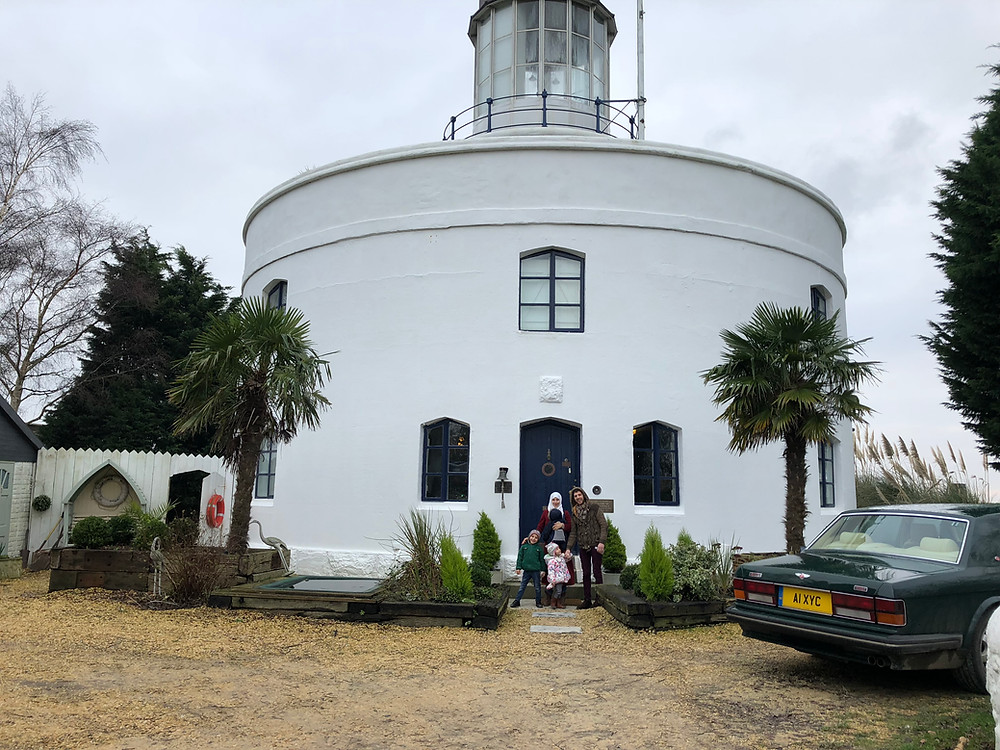 West Usk Lighthouse is a beautiful B&B
