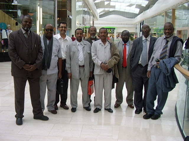 Westfield Shopping Centre with Sudanese Educationalist