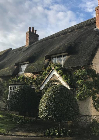 Wychert Cottage in Flint Street, Haddenham