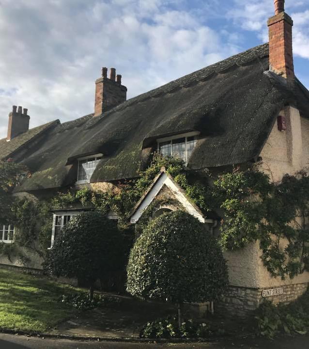 Wychert Cottage in Flint Street, Haddenham