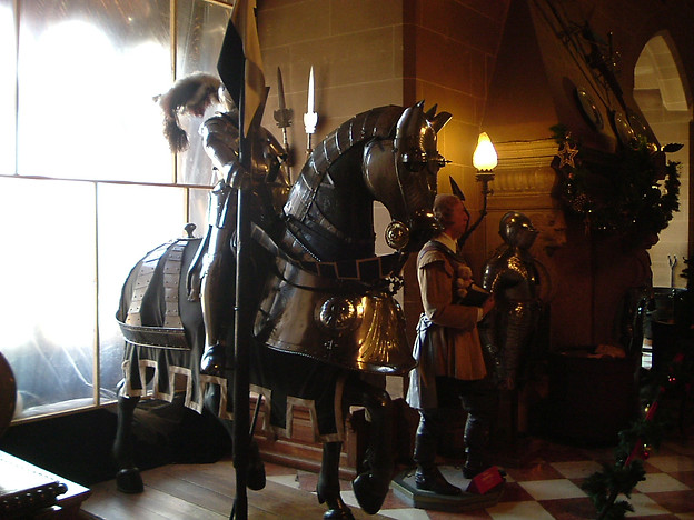 Knight and Horse Armour