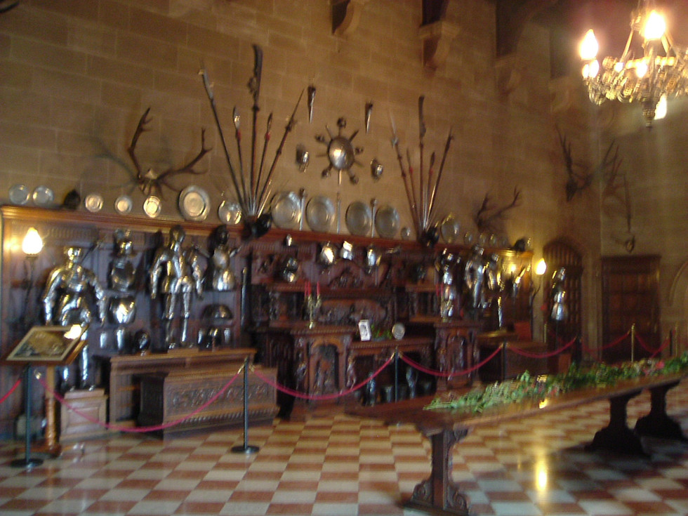 The Great Hall at Warwick Castle