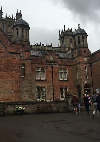 Rear of Highclere Castle