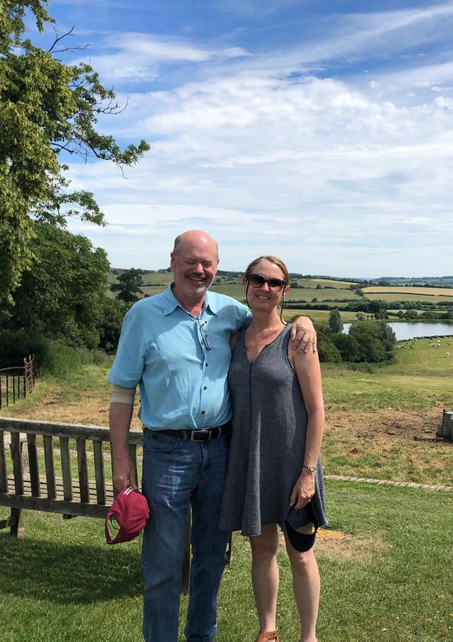 The best vista in Midsomer Murder country