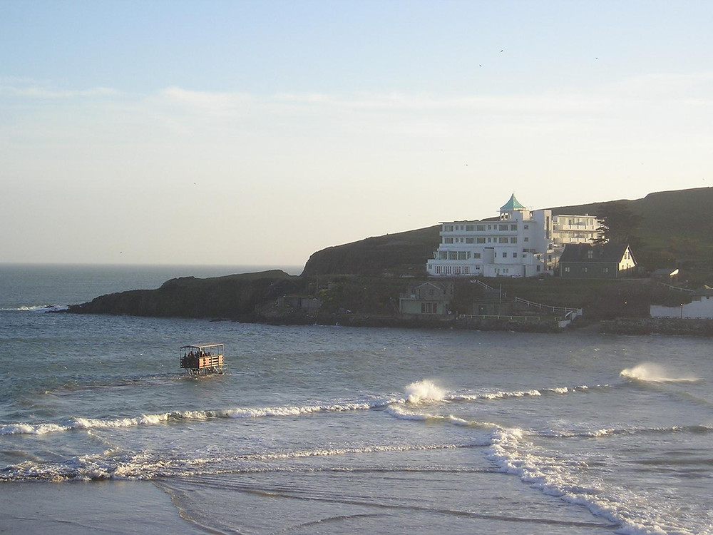 Burgh Island is probably the most romantic hotel in the UK