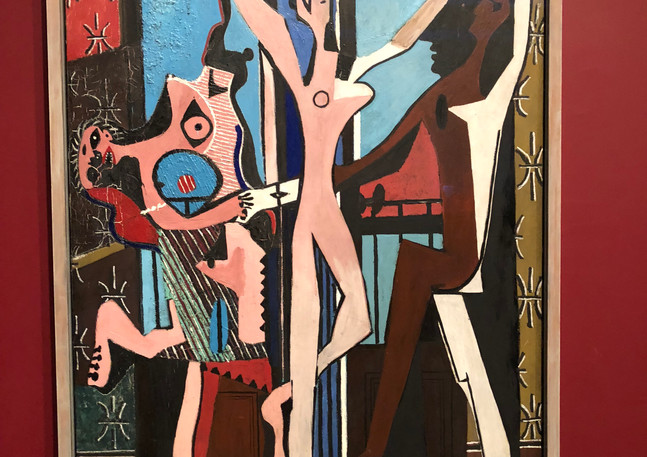 Picasso - Three Dancers