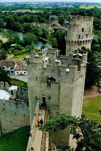 Ceaser's Tower  Warwick Castle
