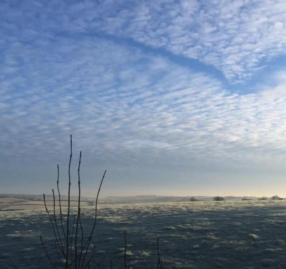 Winter's morning in Midsomer