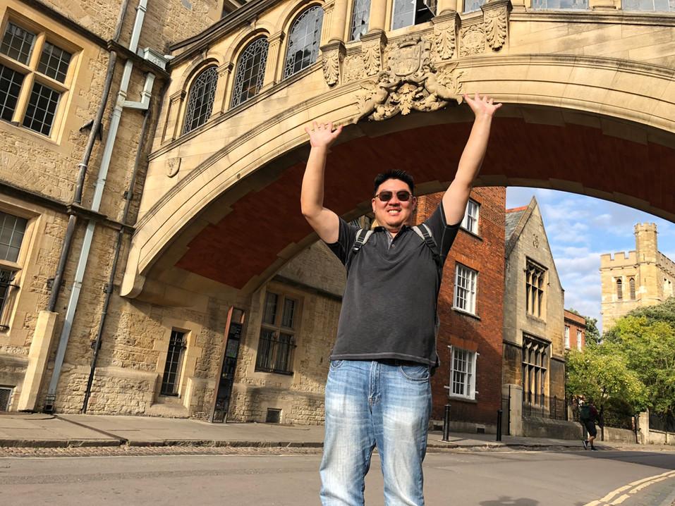 The Bridge of Sighs, New College Lane, Oxford