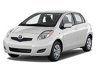 Toyota Yaris 2011 white compact.jpg