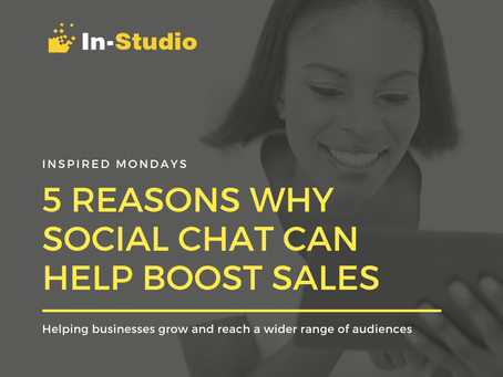 5 Ways Social Media Chat Can Help Boost Sales