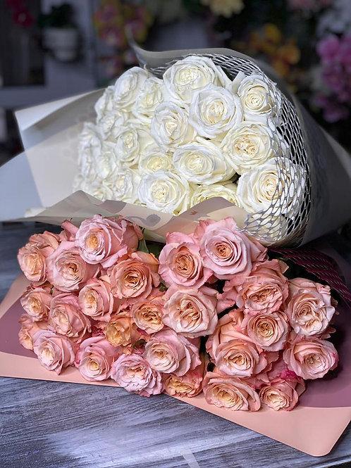 Букет из 25 роз Эквадор 452