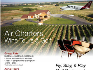 Air Charters to Walla Walla and Other Eastern Washington locations