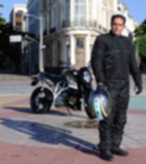Treinamento motociclismo