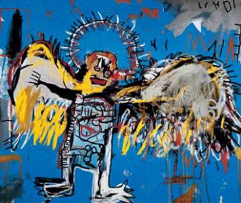 1981. Ángel caído. Jean Michel Basquiat.