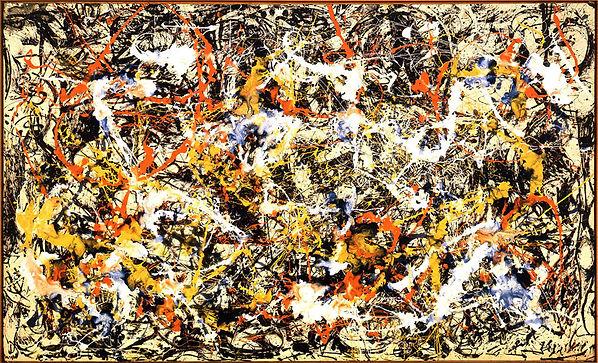1952.  Convergencia. Jackson Pollock.