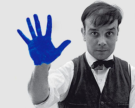 1962. IKB 191. International Klein Blue. Ives Klein.