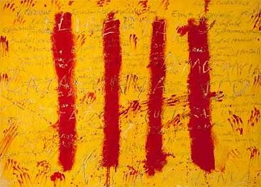 1971. El espíritu catalán. Antoni Tàpies.