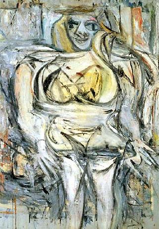 1952. Mujer III. Willem de Kooning.