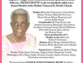 Cynthia Eileen Hunte