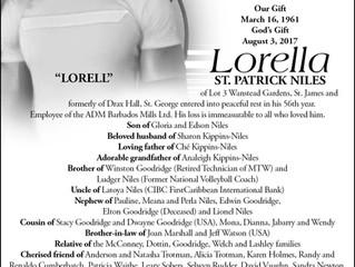 Lorella St.Patrick Niles