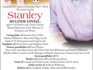 Stanley McClyde Lovell