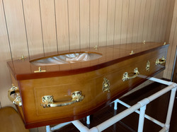 Faceview Coffin