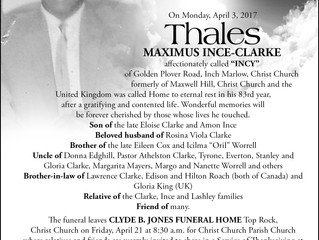 Thales Maximus Ince-Clarke
