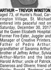 Trevor Winston Arthur