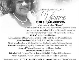 Yvonne Phillips-Harrison