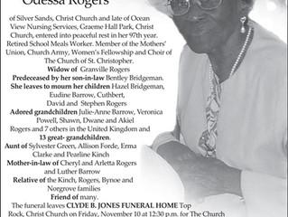 Audrey Odessa Rogers