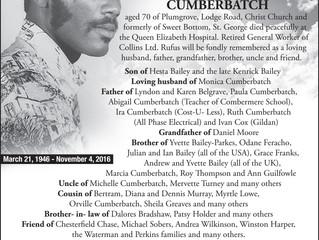 Rufus Cumberbatch