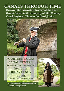 Canal Living History Poster Autumn Fourt