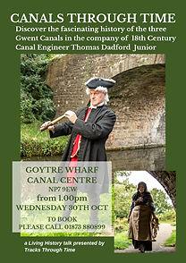 Canal Living History Talk Goytre Wharf A