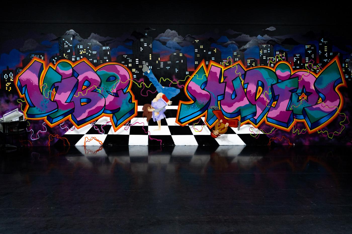 Room 3 Grafitti
