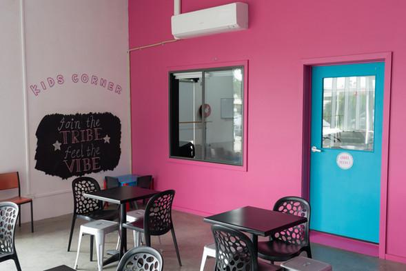 Foyer & Kids Corner