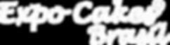 marca EXPO CAKES BRASIL 2018 vetor branc