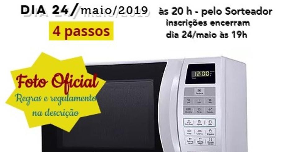 SORTEIO DE 1 MICROONDAS PANASONIC