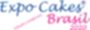logomarca EXPO CAKES BRASIL  2020 edicao
